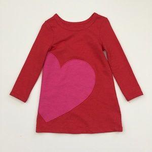 Long Sleeve Heart Dress